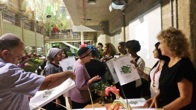 אלי אסקוזידו בהענקת תו תקן ירוק לגנים 2014