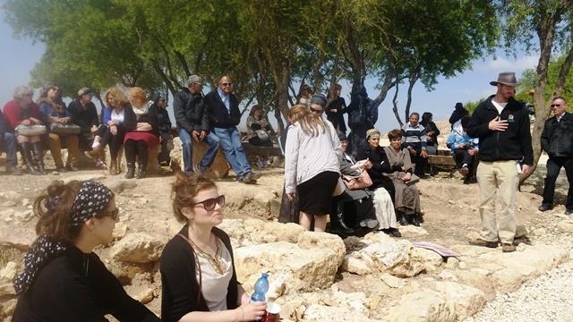 אלי אסקוזידו ועובדי המועצה יוצאים לסיור לימודי בשילה העתיקה