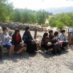 אלי אסקוזידו בסיור לימודי לשילה העתיקה