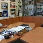 אלי אסקוזידו מארח את אלקנה פרידמן במועצה אזורית נחל שורק