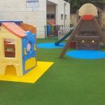 משטחי בטיחות מגומי לגני משחקים וגני ילדים Smartplay