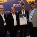קבלת פרס ירושלים אלי אסקוזידו