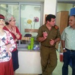 אלי אסקוזידו בפגישה עם רחל פידל